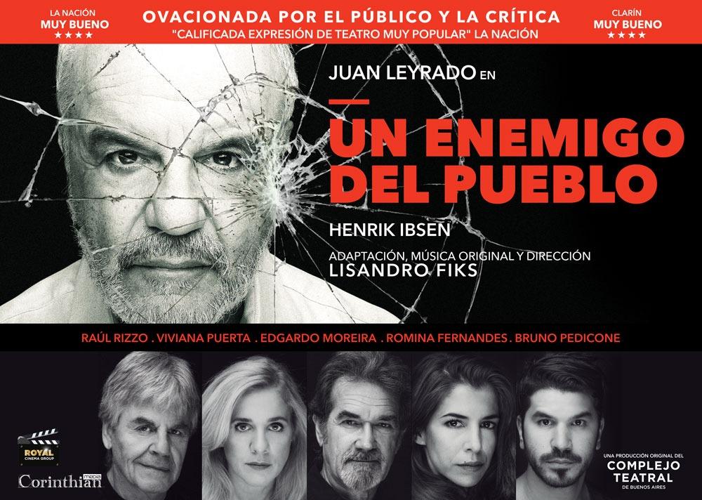 "Edgardo Moreira: ""Tiburón de Spilberg está basada en Un enemigo del pueblo de Ibsen"