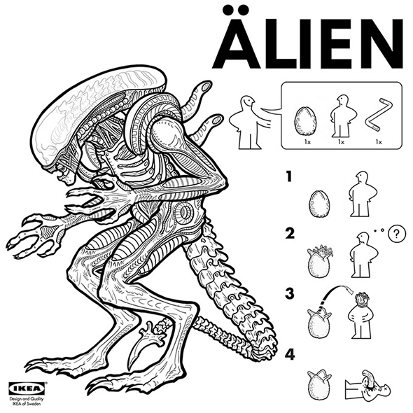 IKEA-instructions-for-iconic-movie-monsters-picame-1