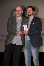 Raúl Arévalo y David Pulido, guion original por 'Tarde para la ira'