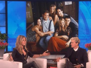 Jennifer Aniston e Ellen