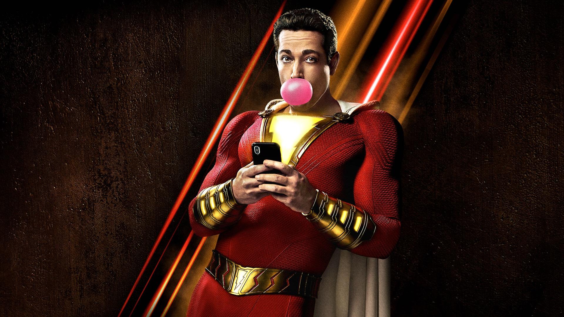 Shazam | Superman citado em trailer e Zachary Levi imitando a ...