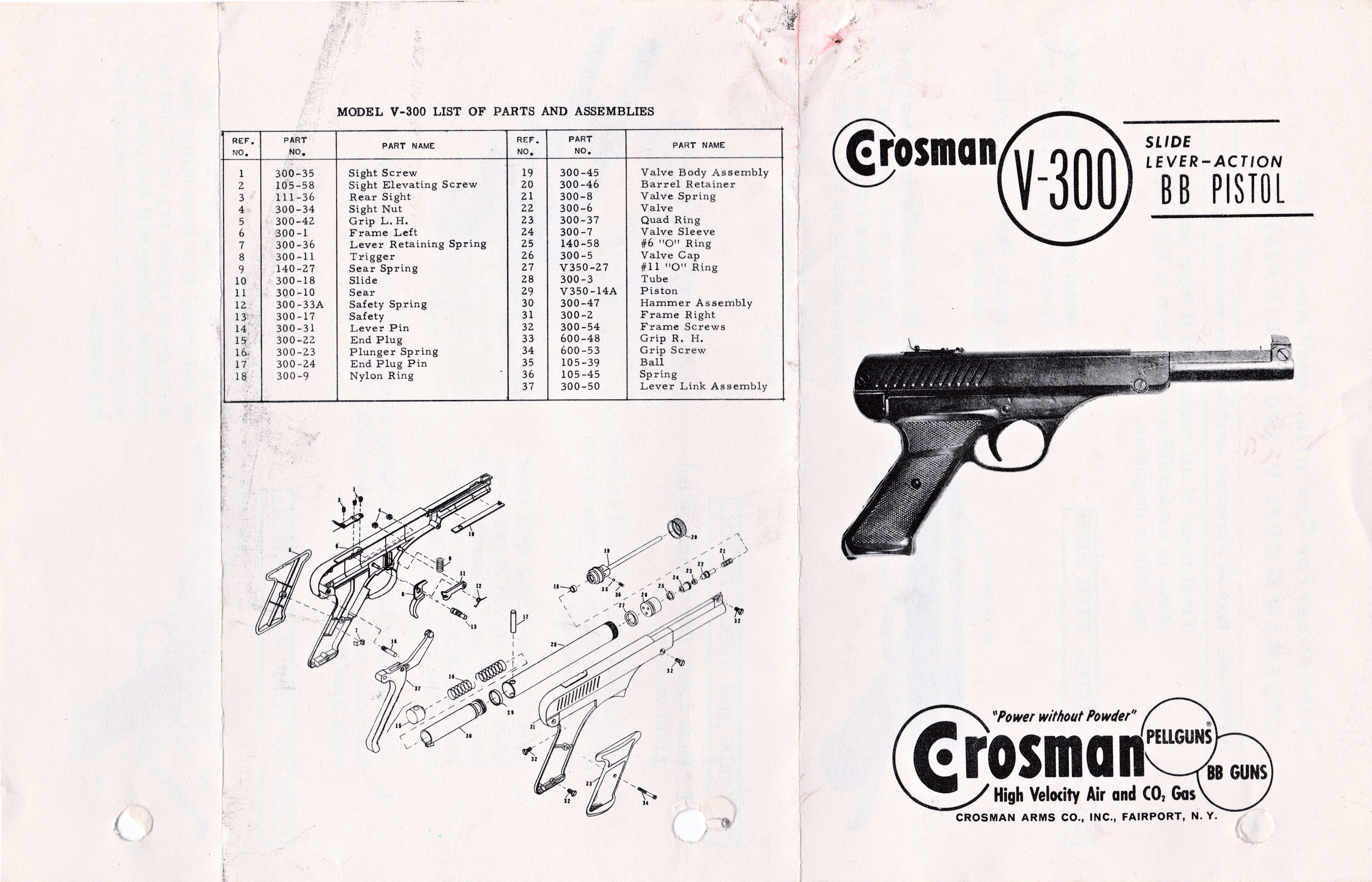 Crosman Challenger Repair