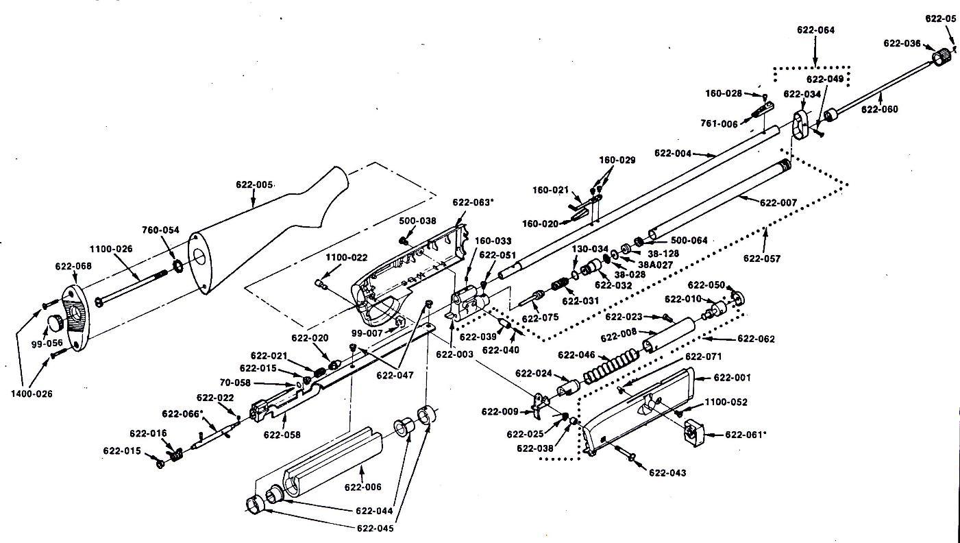 Crosman 1400 Parts Diagram. crosman 1400 valve improvement