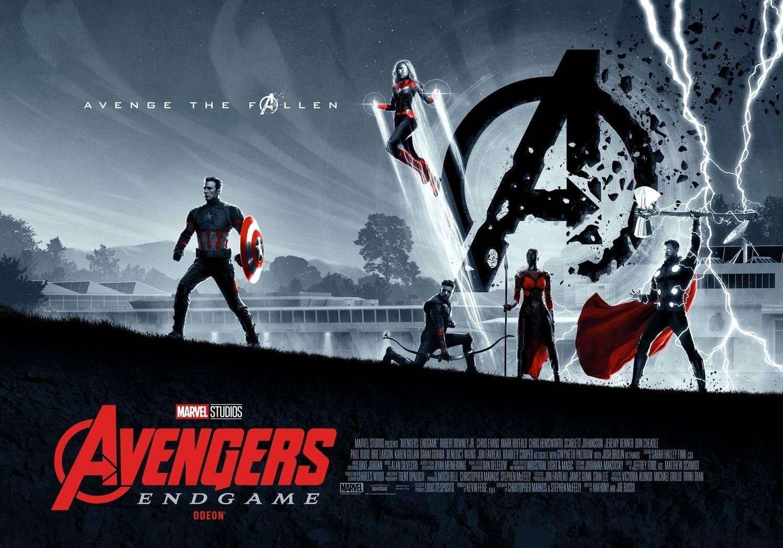 Avengers Endgame Affiche Odeon