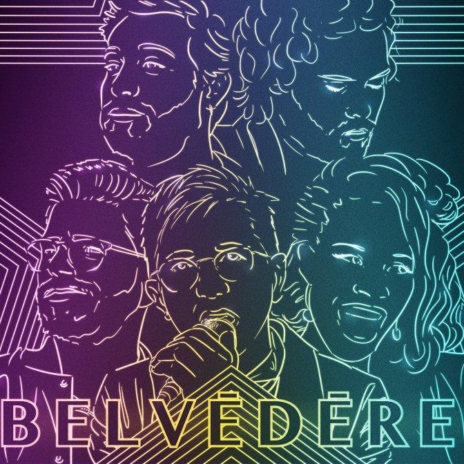 Pochette de l'EP de Belvédere