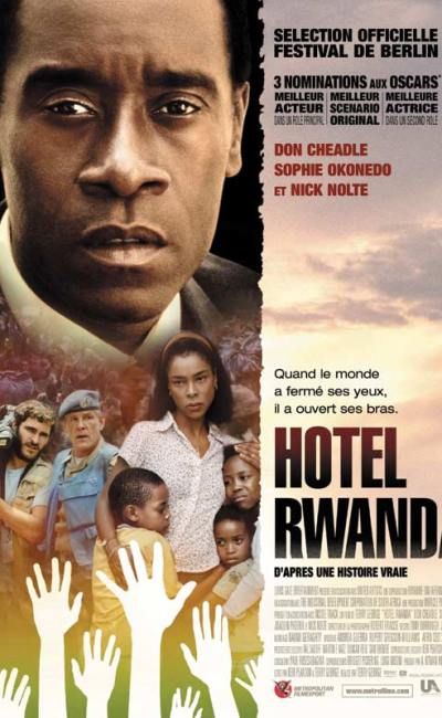 Affiche française de Hotel Rwanda