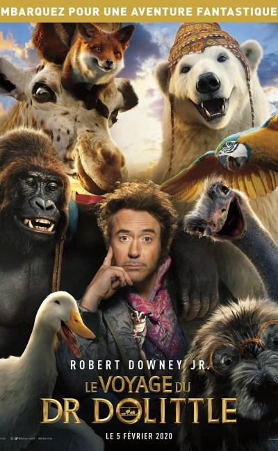 Le voyage du Dr Dolittle : affiche du film