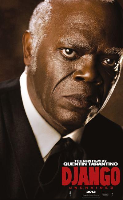 Affiche personnage de Django Unchained représentant Samuel L. Jackson