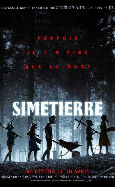 Affiche du remake de Simetierre (2019)