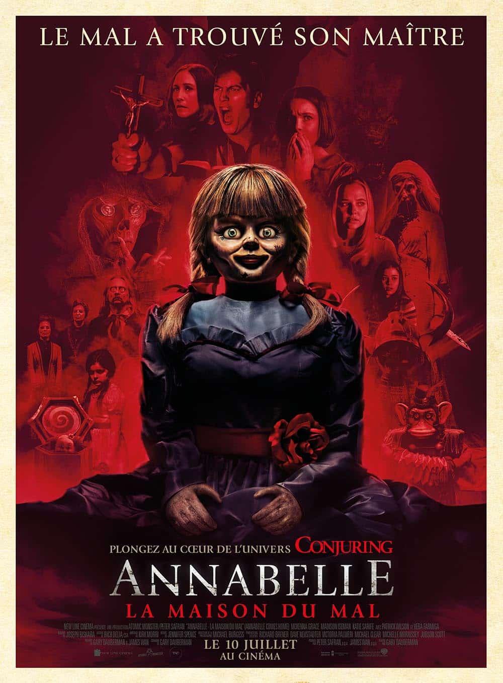 Affiche française Annabelle 3