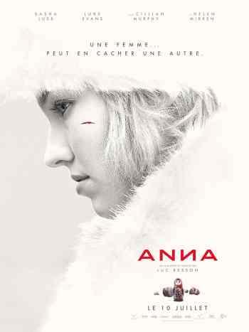 Affiche teaser du film de Luc Besson, Anna.