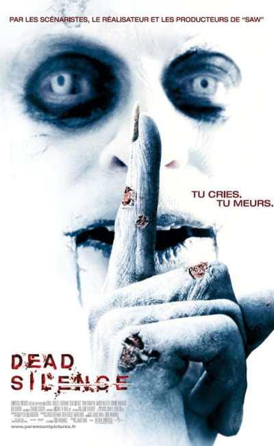 Dead Silence affiche française du second film de James Wan