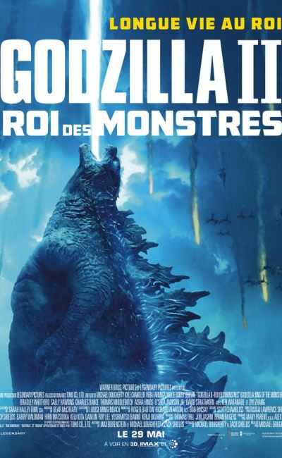 French poster Godzilla King of the monsters