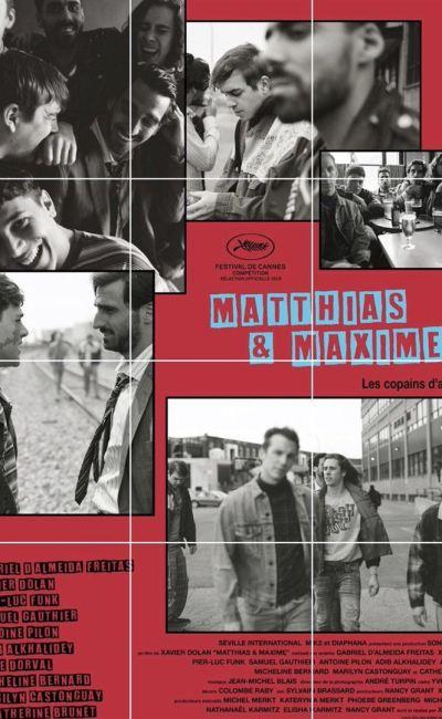 Affiche du nouveau Xavier Dolan, Matthias et Maxime