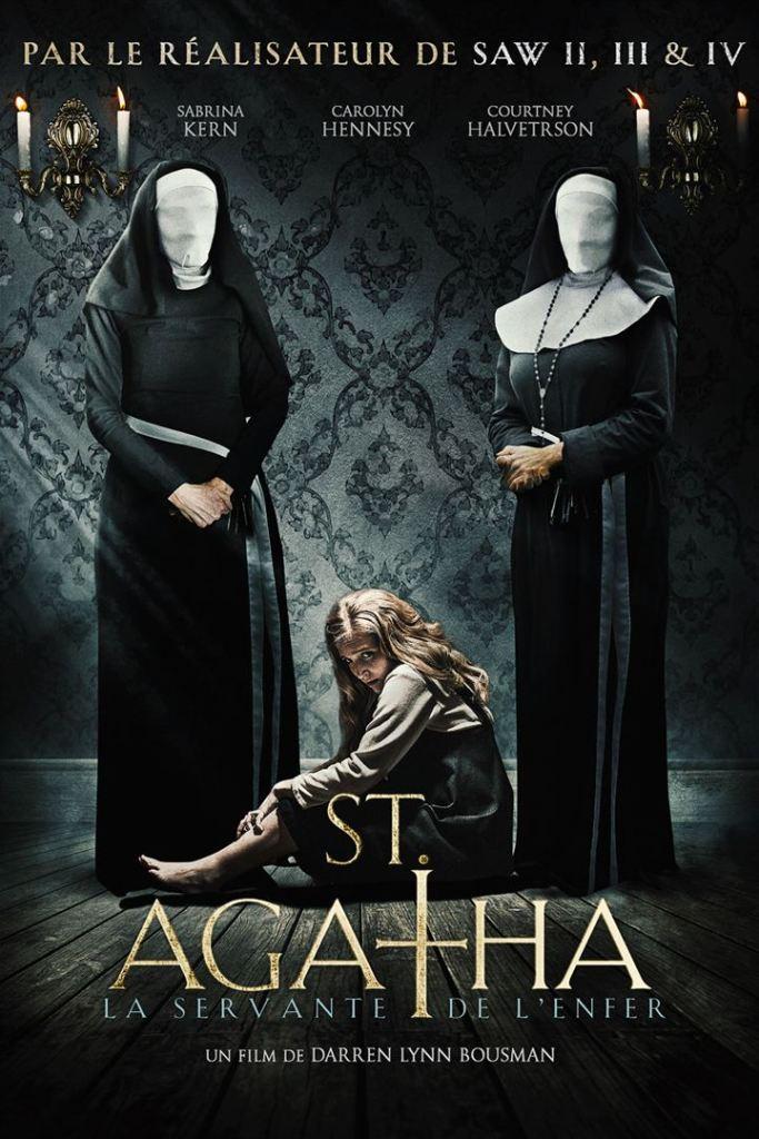 St Agatha, jaquette du film