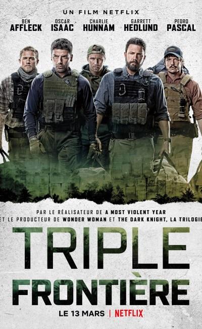 Triple Frontière, affiche du film Netflix