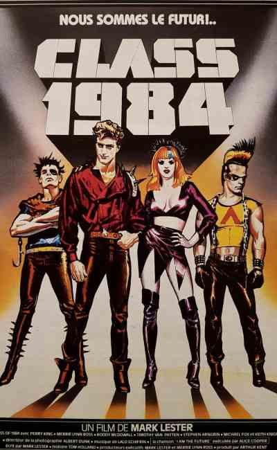 Class 1984, affiche cinéma, Landi