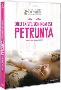 Dieu existe, son nom est Petrunya, la jaquette du DVD