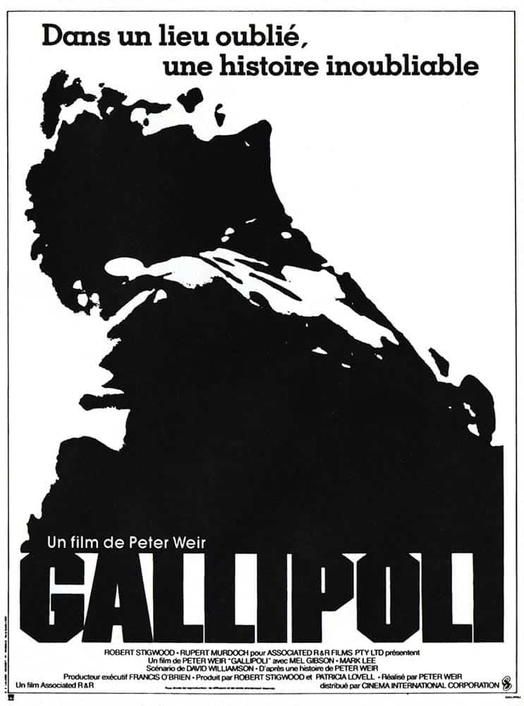 Affiche de Gallipoli avec Mel Gibson