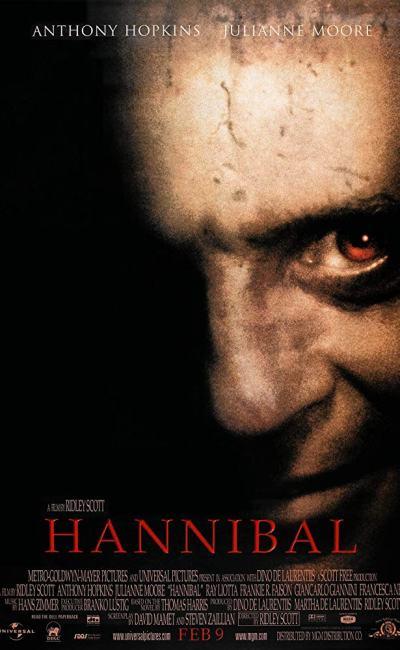 Affiche de Hannibal de Ridley Scott