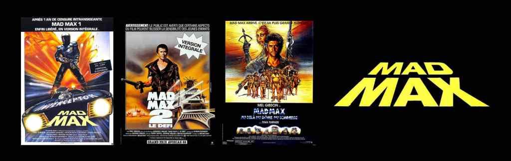 Mad Max, les affiches de film