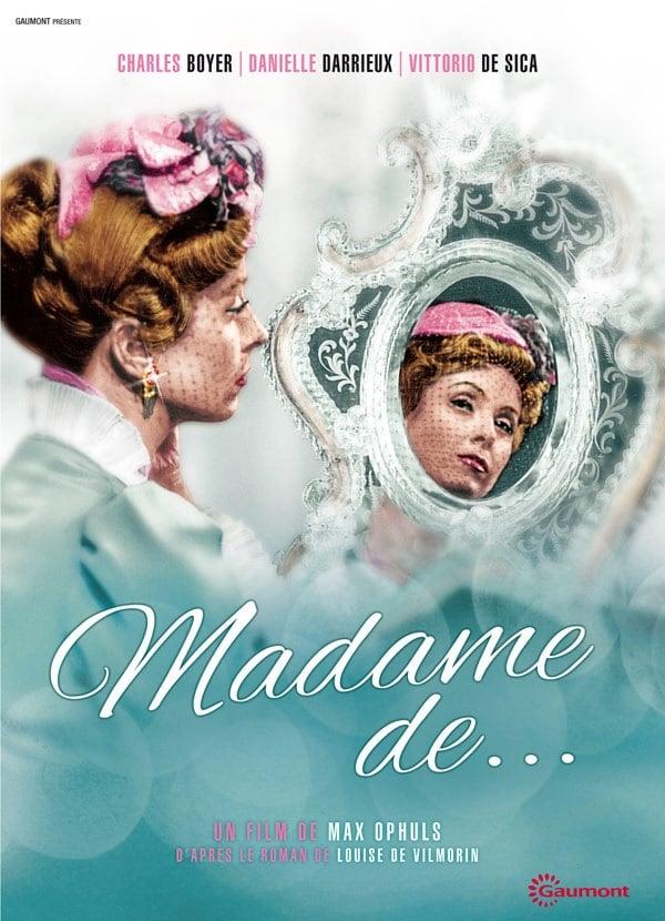 Affiche (réédition) de Madame de... de Mac Ophuls