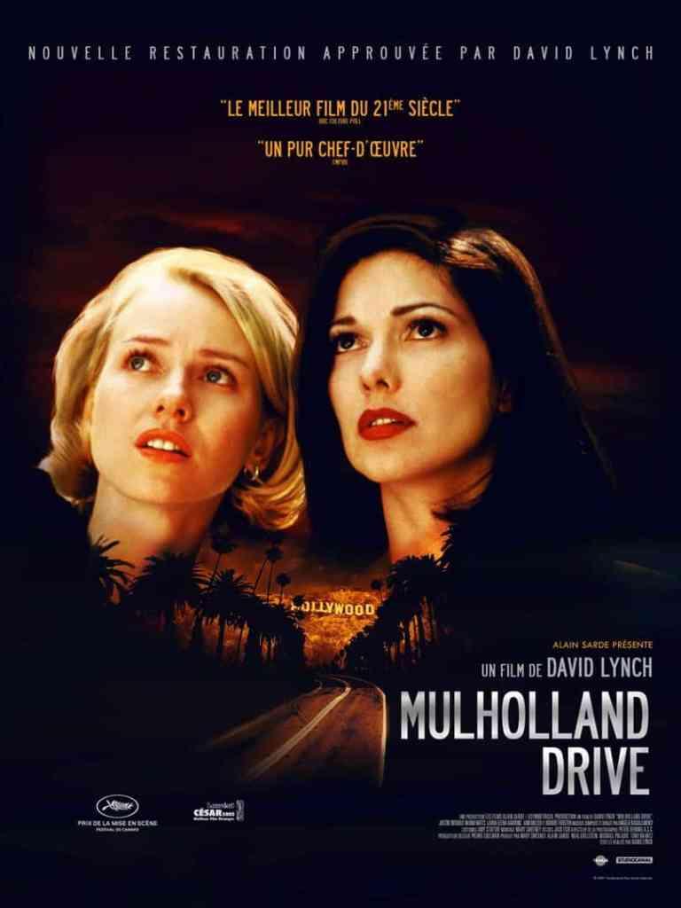 Affiche française (reprise) de Mulholland Drive