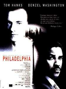 Affiche française de Philadelphia de Jonathan Demme