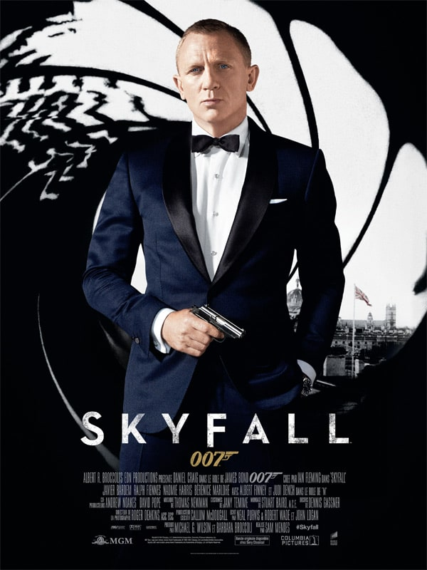 Affiche française de Skyfall de Sam Mendes