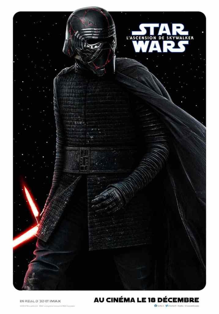 Star Wars 9 : l'affiche personnage de Rylo Ken
