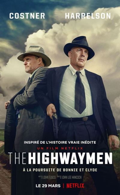 The Highwaymen, affiche netflix