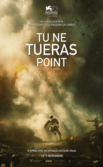 Tu ne tueras point, affiche du film