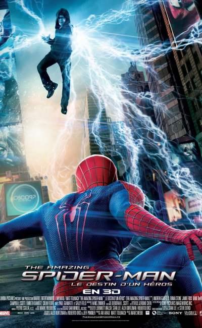 The Amazing Spider-Man 2 affiche française officielleic