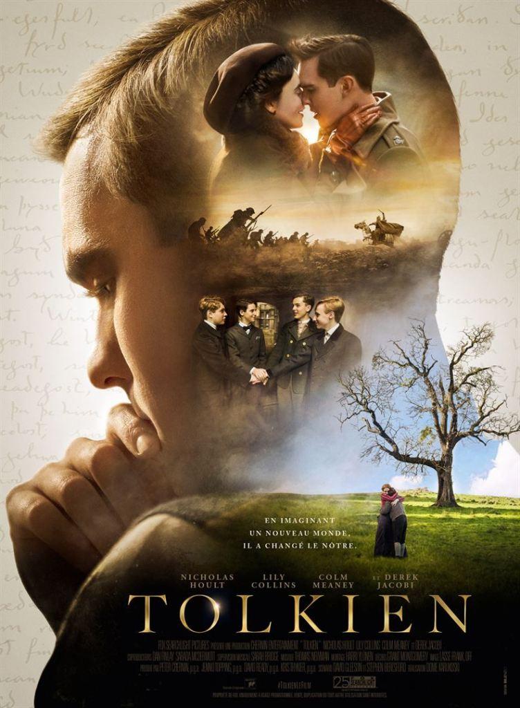 Tolkien, affiche du biopic