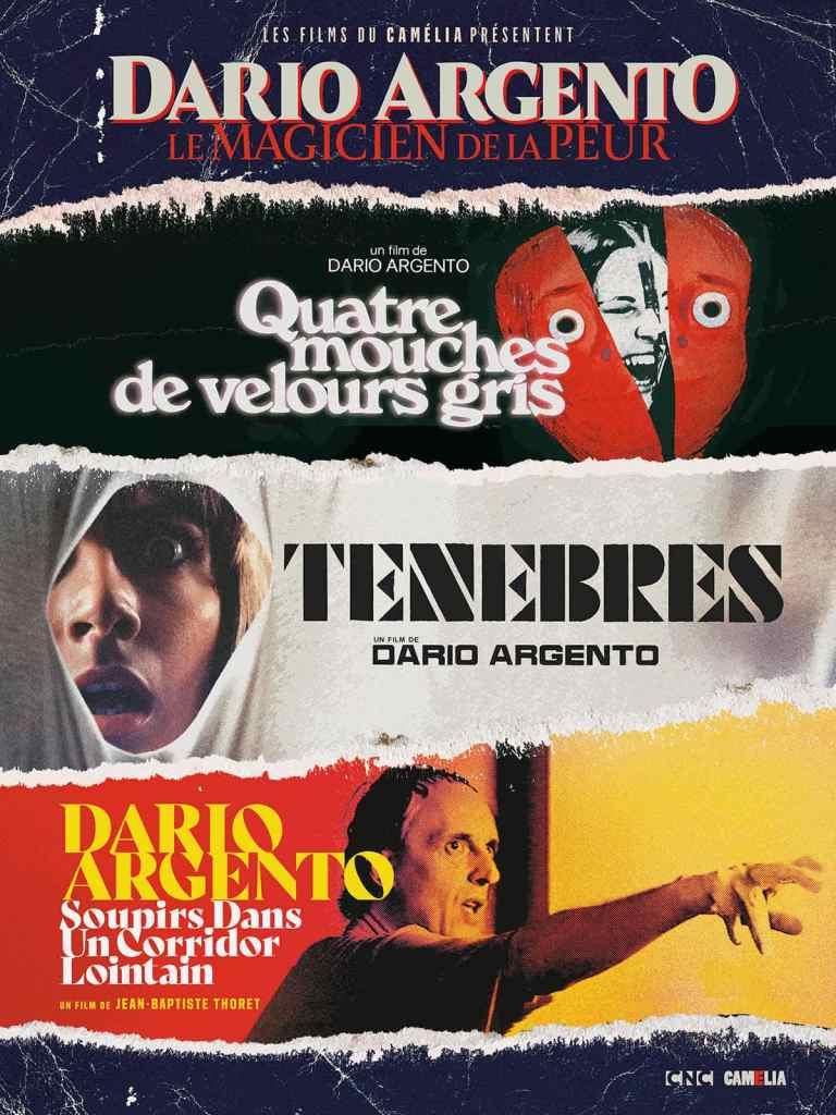 Affiche de la rétrospective Dario Argento, le Magician de la peur