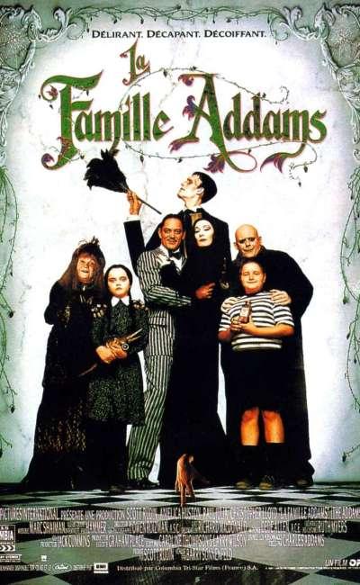 La famille Addams, l'affiche du film de 1991