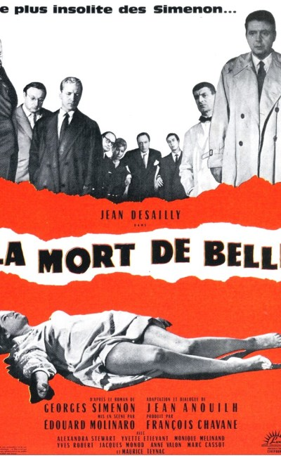 Affiche de La Mort de Belle d'Edouard Molinaro
