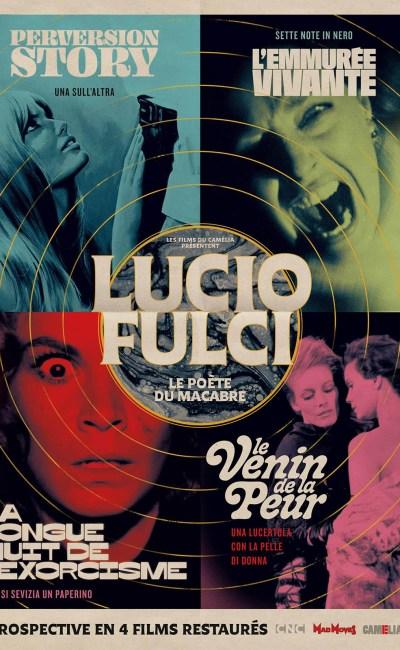 Affiche rétrospective Lucio Fulci