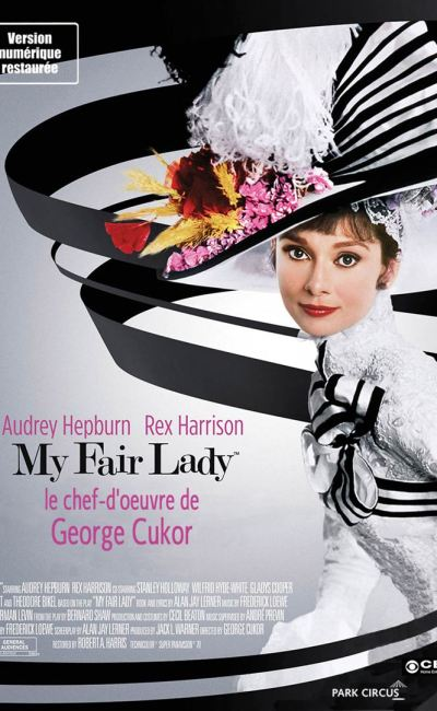 Affiche de la reprise 2017 de My Fair Lady