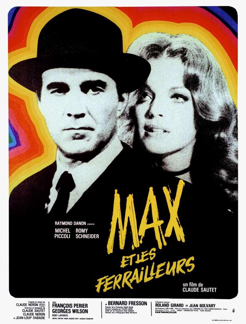Max et les ferrailleurs, l'affiche