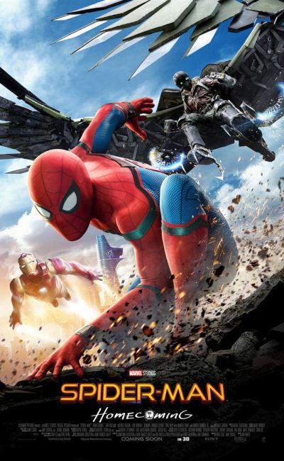 Affiche définitive de Spider-Man Homecoming
