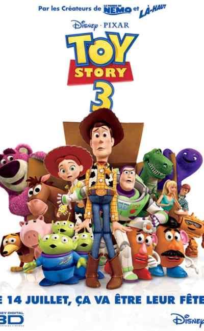 Affiche française de Toy Story 3