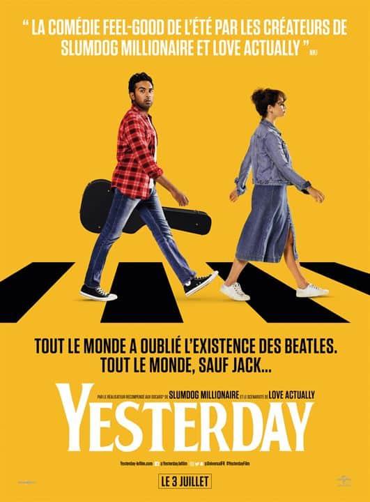 Yesterday, affiche définitive du film de Danny Boyle