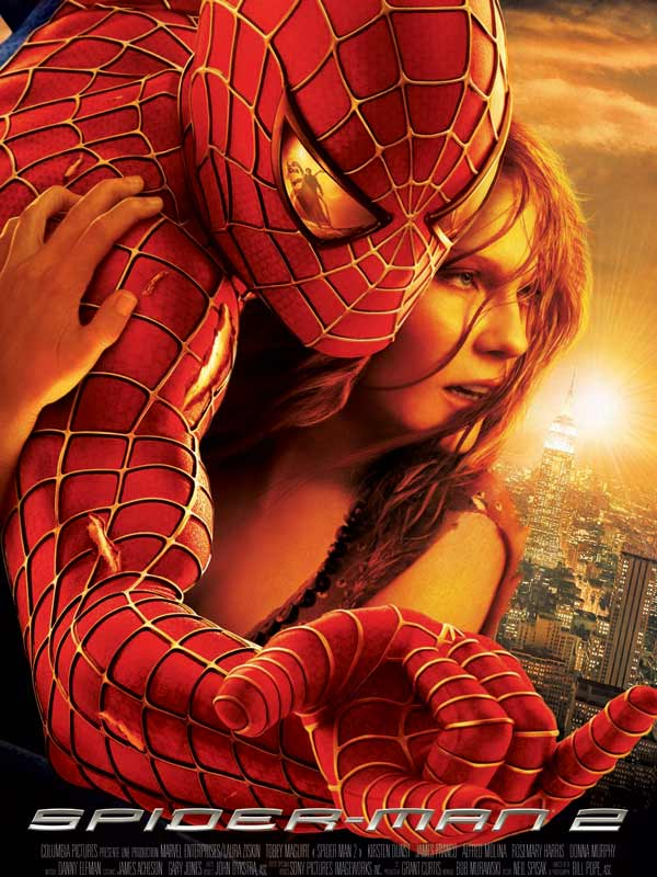 Spider-man 2 : affiche définitive