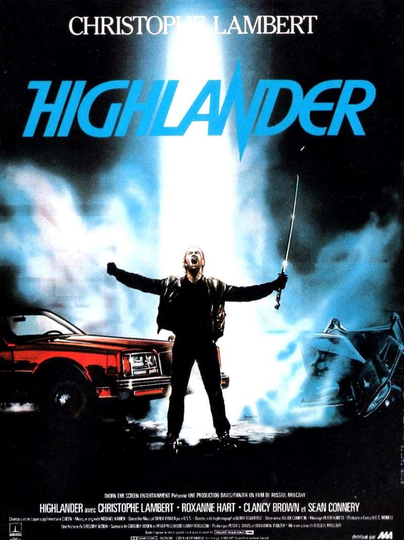 Highlander, l'affiche française