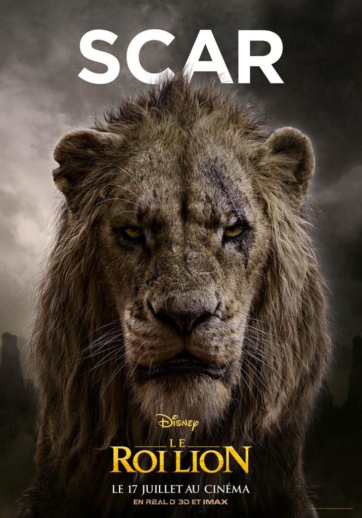 Le vilain Scar dans Le Roi lion