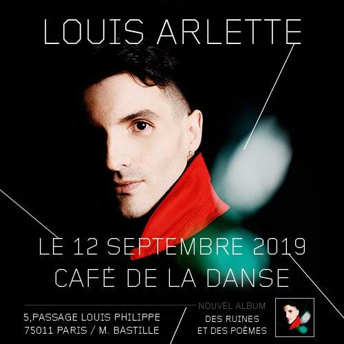 Louis Arlette au Café de la Danse