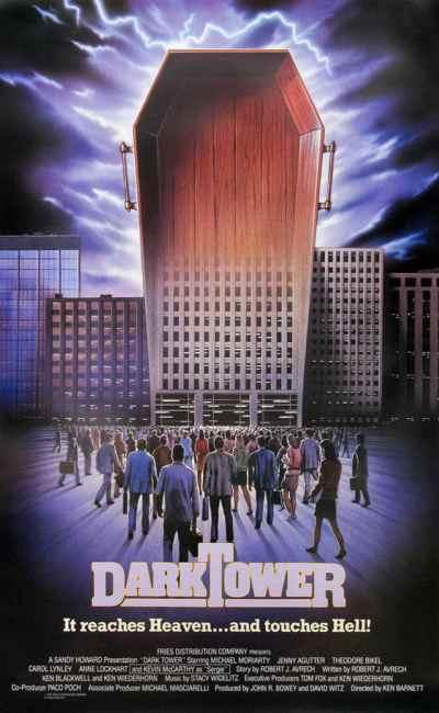 Affiche de la dernière réalisation de Freddie Francis, The Dark Tower