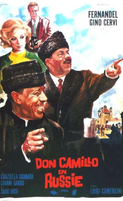 Don Camillo en Russie, l'affiche