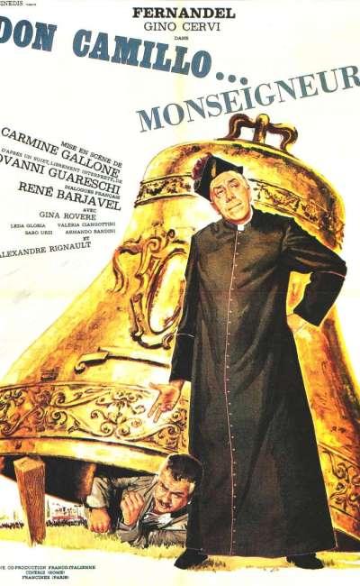 Don Camillo Monseigneur, l'affiche